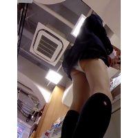 【HD】靴カメ君が行くPart116【激ミニJK・スカートめくり】