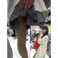 【フルHD】靴カメ君が行くPart316【かわいい私服JC?JK?手撮りめくりあり編】