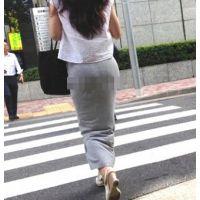 ロン爺のピタパン女がゆく51 セクシー美女のタイトスカート