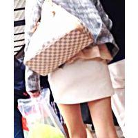 ロン爺のピタパン女がゆく199 中身が見えそうなミニスカギャルの透けパン編