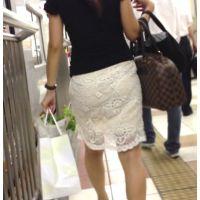 ロン爺のピタパン女がゆく96 スカートに浮かぶTの文字編