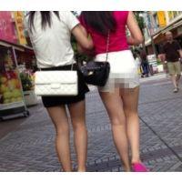 【HD画質】 ロン爺のピタパン女がゆく19 むっちり短パンはJK?JC?編