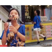 若い少女のハミパンは大好物!ショーパンから見える恥ずかしい生パン!街中でおじさんに丸見えの恥じらい動画