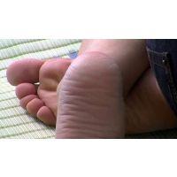 【Around40 完熟足2】 町内のアラフォー奥様の完熟足を。美人じゃなくともいいんです、裸足なら!!