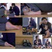 【若ママの足57】 ヤバ過ぎる程に恥ずかしい人妻の足裏をねぶるように堪能せよ!!