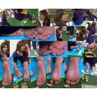 【運動会裸足ママ2】 キレイな奥さんほど撮られる事に抵抗を感じませんね。