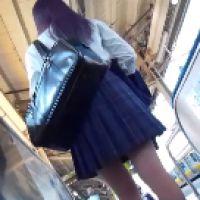109,まじめな感じでも可愛くてスタイルの良い女子○生さんは隠れネズミパンツでした!!