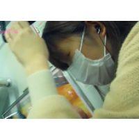 秋冬016,可愛い私服女子○生を満員電車で観察して来ました!!