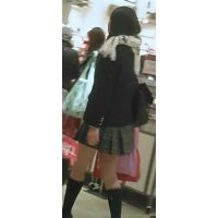 【新カメHD動画】制服娘逆さ撮りNo57(顔あり)