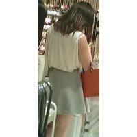 【新カメHD動画】カワイイ娘の生パンツ逆さ撮りNo27(顔あり)