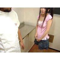 【悪戯】万引き娘を強制身体検査 05