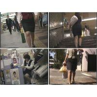 街のむっちりタイトスカートOL(11)