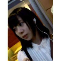 【逆さHERO】!!新作FHD!!私服○K?清純パイスラッシュの可愛いらしい女の子の清純白!