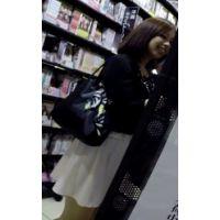 【逆さHERO】!!新作FHD!!OLっぽいお姉さん、本屋とレンタルで逆さ撮り!