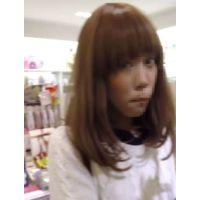 【逆さHERO】!!新作FHD!!百貨店にいた!アパレルっぽい姉ちゃんの絵選び!!