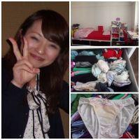 OL1年目せりなちゃん(24)の自宅で下着を物色しました!!