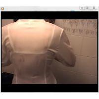 【ツインテ女子高生】透けブラ、WET、フェラ動画