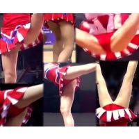 【HD動画】JKチアリーダーの宙返りバック転リフト 海外編