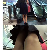 《女子大生》追跡ナマ脚