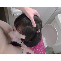 トイレで臭いザーメン妹の胃に流し込み フェラ手コキ [動画顔出し]