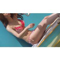 プールサイドで濡れる美少女達NO-4