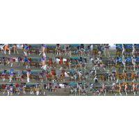 【超高画質フルHD動画】ハイクラスチアガール達の股間が激アツすぎるNO-1NO-2セット商品