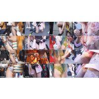 【超高画質フルHD動画】大阪歩行者天国コスプレフェスティバルNO-5678セット商品
