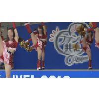【超高画質フルHD動画】ハイクラスチアガール達の股間が激アツすぎるNO-6