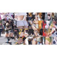 【超高画質フルHD動画】大阪歩行者天国コスプレフェスティバルNO-1~NO-8コンプリートセット