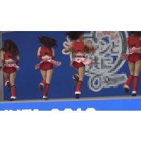 【超高画質フルHD動画】ハイクラスチアガール達の股間が激アツすぎるNO-5