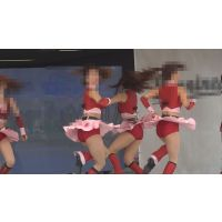 FHD動画 お色気満点チアガール 赤のアンスコがまぶしすぎるNO-4