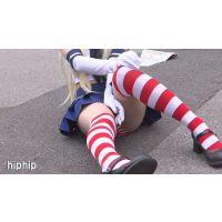 【超高画質フルHD動画】ワンダーコスプレアニメフェスティバル えっちなコスプレイヤーが脱ぎまくり見せまくりNO-7