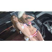 カスタムカーショーで露出MAXなキャンギャル達を超ローアングル撮りNO-4