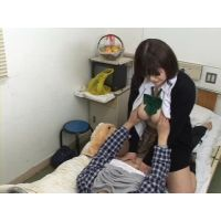 キョニュー☆<恋する女子○生>ガマンできず病室で 10