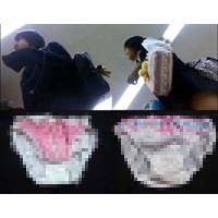【美少女姉妹】【SP】J〇c&kちゃん姉妹のスカートの中と洗濯物!!part1