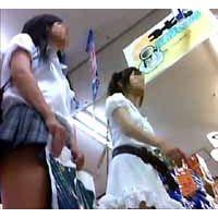 【美少女】S級JDと制服Jケイの超絶美少女姉妹のスカートの中見せて!!
