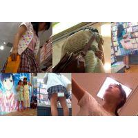 【美少女】ミニマムJ〇ちゃんが集う街!part20 服もPも彩りカラフル!!