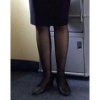 【美脚の表情】働く女性の黒スト3(春)【街撮り】