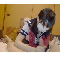 おさげ黒髪●C 手コキ+フェラでぐっちゅぐちゅ奉仕 大量射精【フルHD】