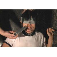 [個人撮影]体操着女子への鼻責め/鼻洗浄/チンポへの鼻水・ツバ吐き/鼻射