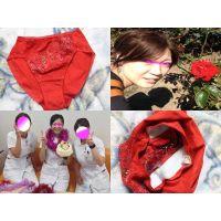 SS級ナース!!「えみこ」の真っ赤なパンティーを犯す!!