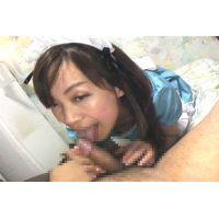 【個人撮影】撮影OKなデリ嬢の乳首舐め&フェラ(一週間分の精子ww)