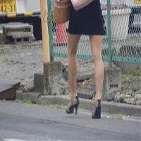 タイトスカートな女 通勤 1