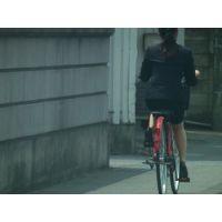 自転車通勤なOL 3-1