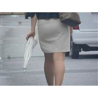 タイトスカートな女 通勤 24
