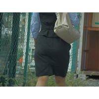 タイトスカートな女 通勤 52