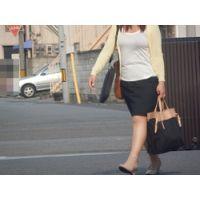 タイトスカートな女 通勤 96