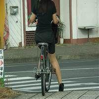 自転車登校なJD