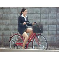 自転車通勤なOL 3-2