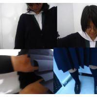 【フルHD】清楚な女子高生二人組みのマル秘スポット!